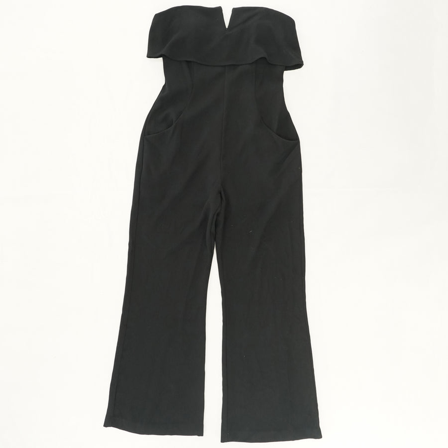 Strapless Jumpsuit with Pockets Size L