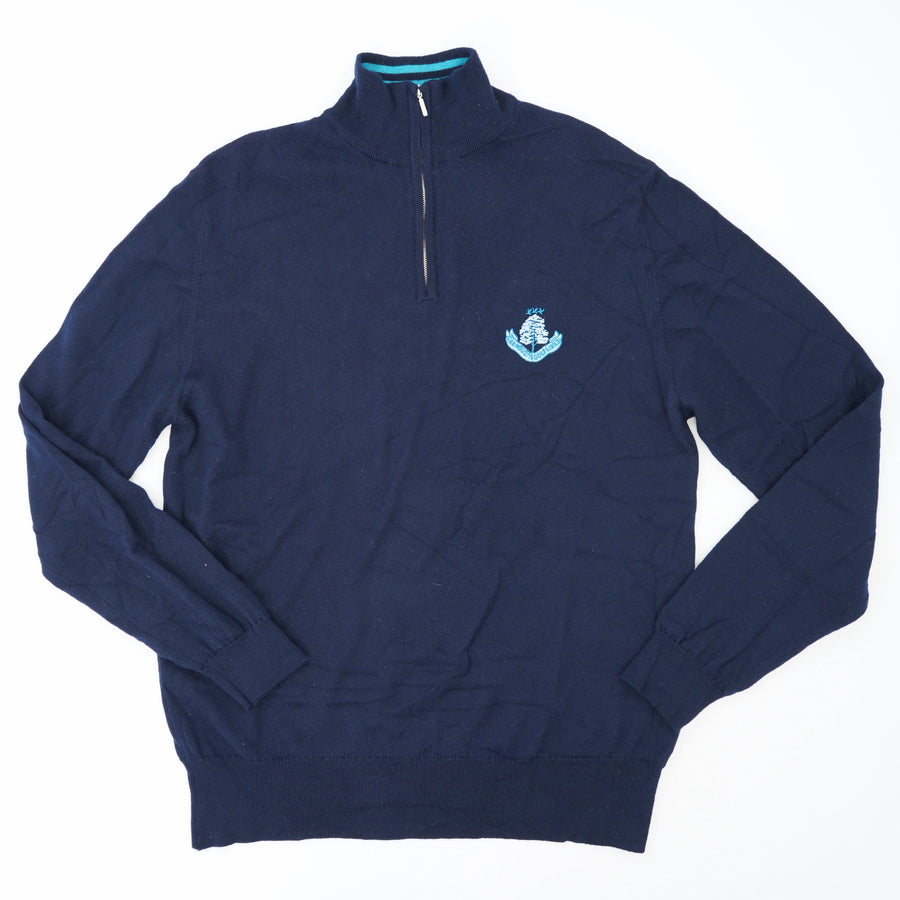 Scotland Wool Quarter Zip Up Size 42