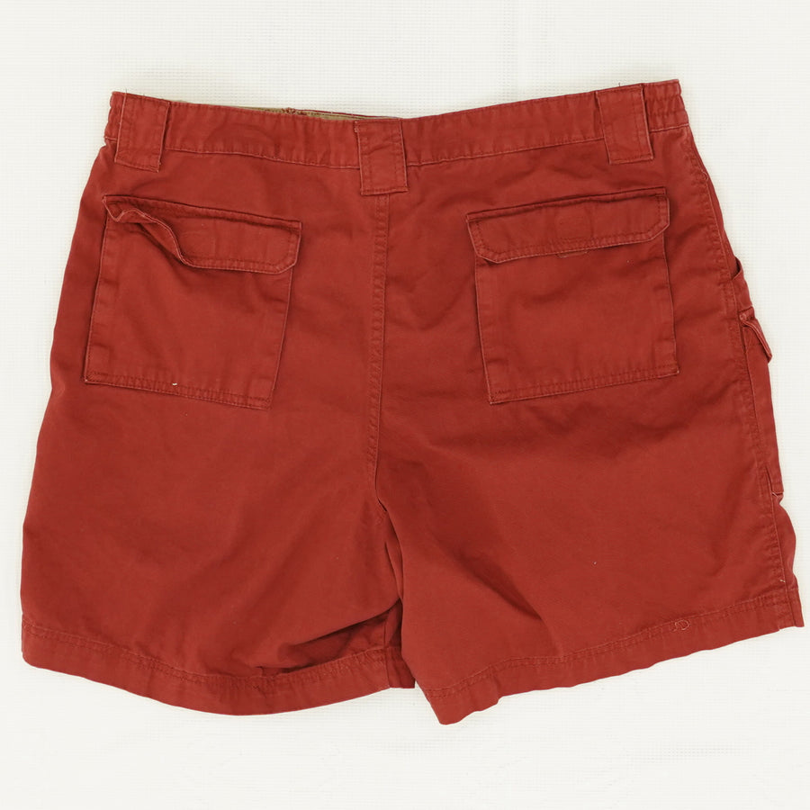 Red Cargo Hiking Shorts Size 38