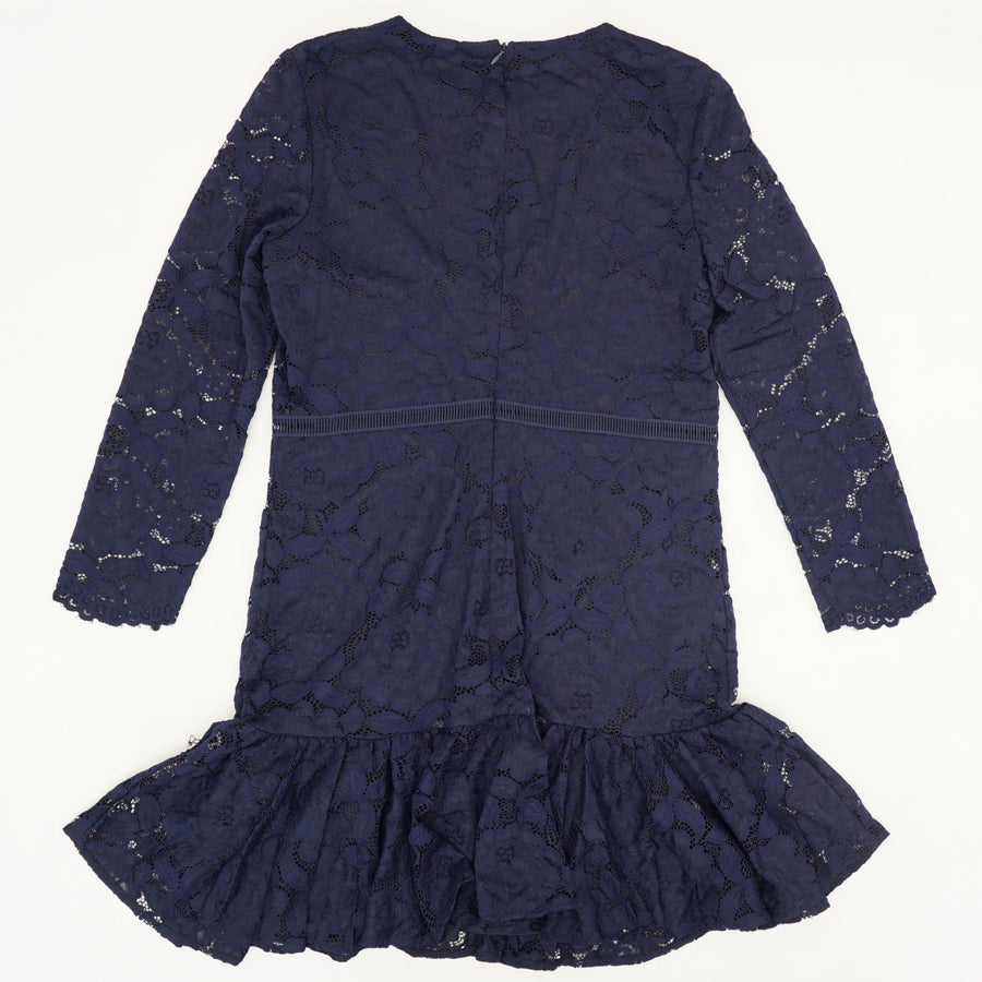 Rubi Lace Dress in Navy Size 12