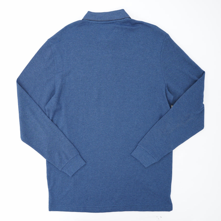 Blue Collared Long Sleeve Size M
