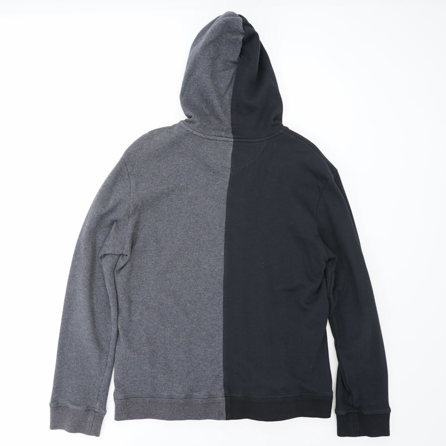 Jamie Reid Black/Grey Cotton Hoodie Size M