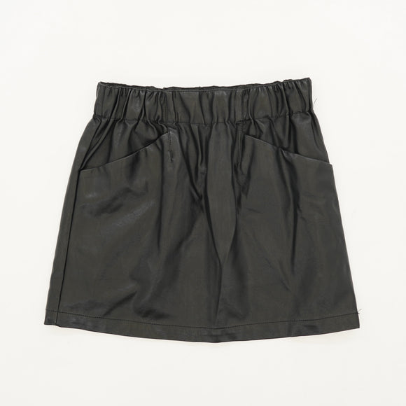 Faux Leather Skirt Size S