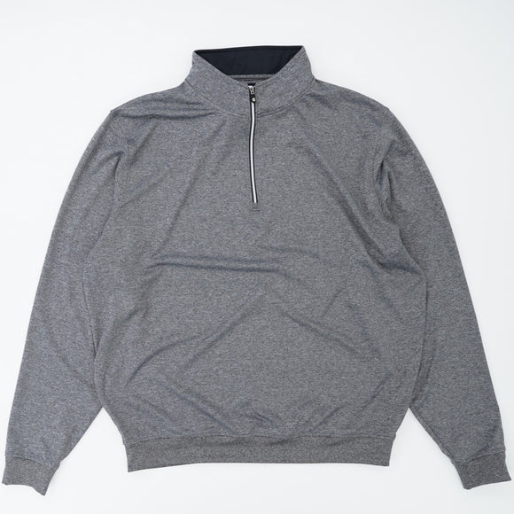 Gray 1/4 Zip Pullover Size XL