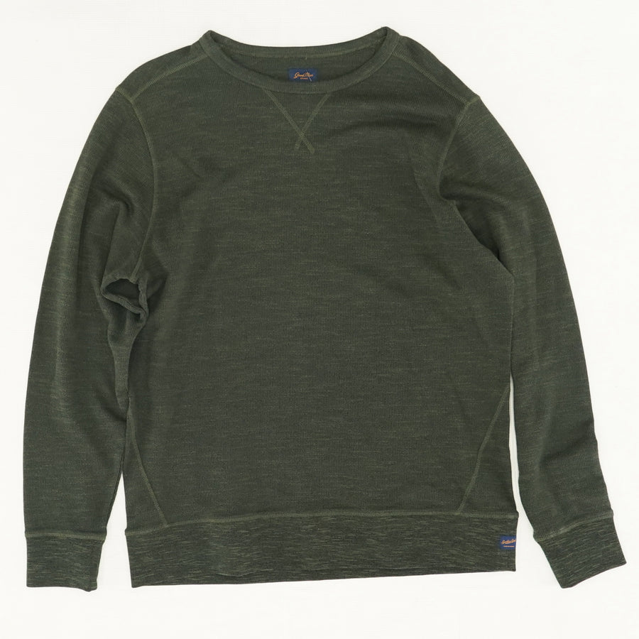 Heathered Green Crewneck - Size XL