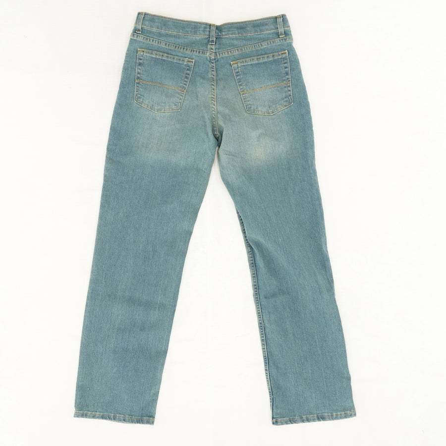 Light Wash Straight Leg Jeans - Size 20
