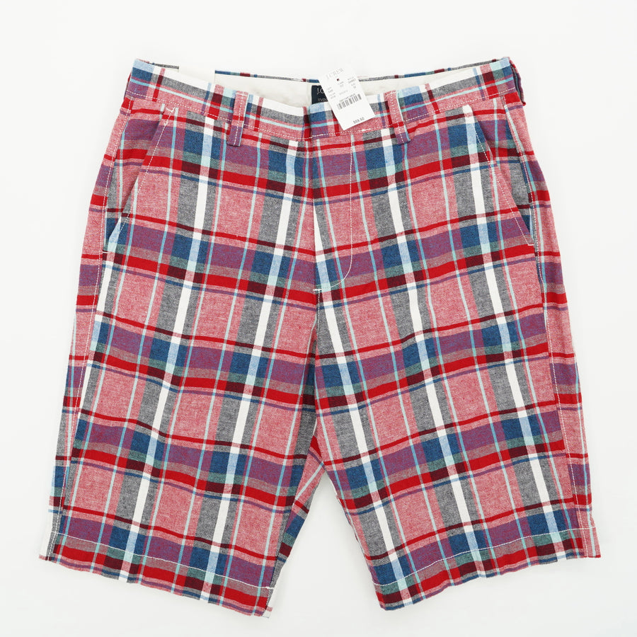 Rivington Plaid Shorts Size 32
