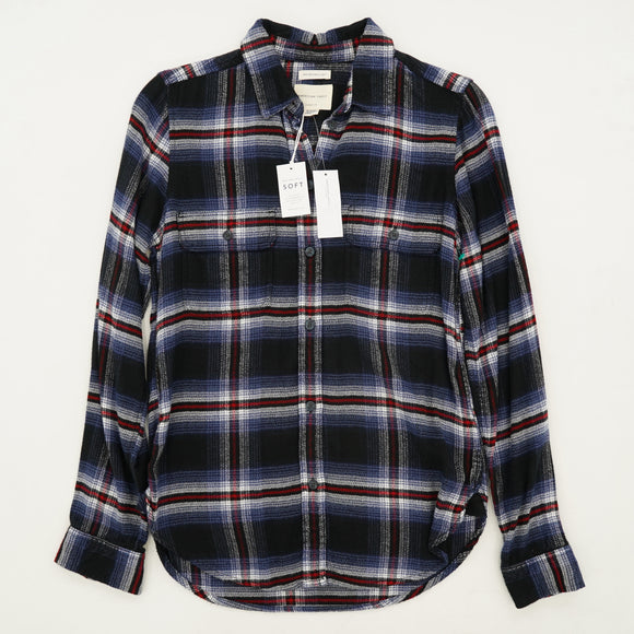 Ahh-Mazingly Soft Plaid Button Down Size XS