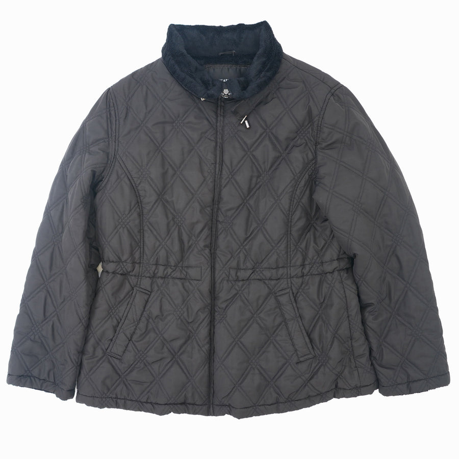 Quilted Fleece Lined Jacket Size XL