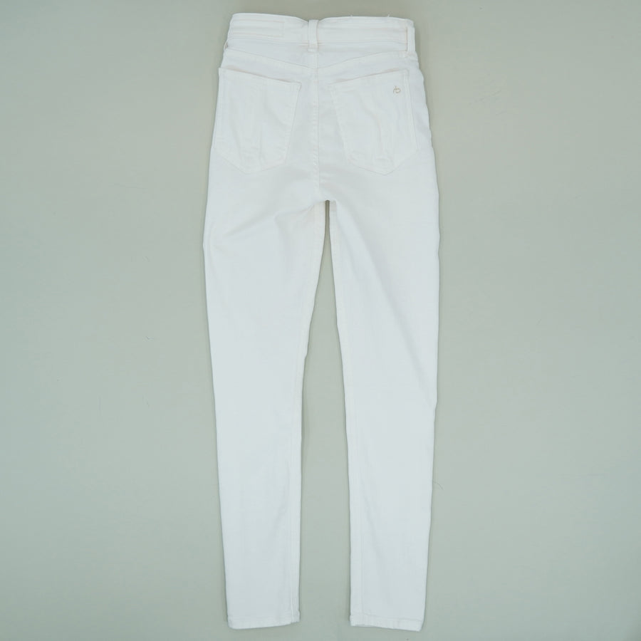 Nina High Rise Ankle Skinny Jeans Size 23