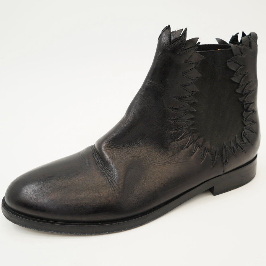 Round Toe Ankle Boots - Size 10