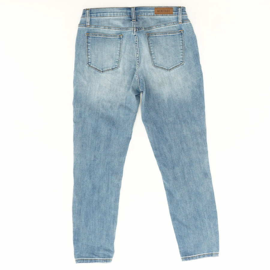 Light Wash High Rise Jeans - Size 31