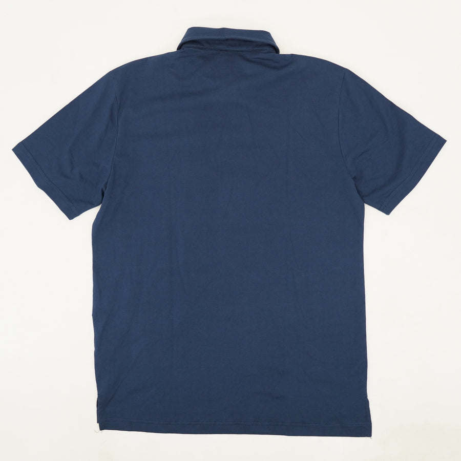 Solid Jersey Polo - Size M
