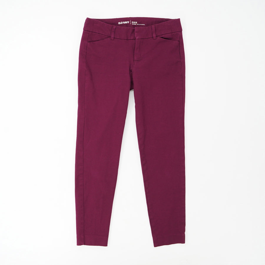 Pixie Mid Rise Ankle Chinos Size 0