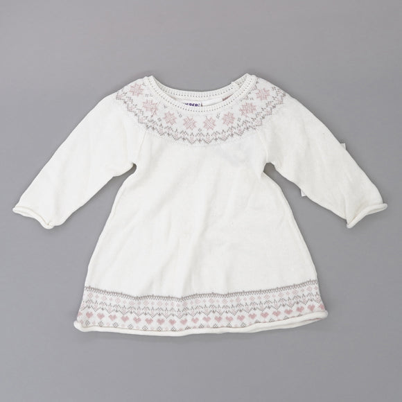White Sweater Dress Size 24M