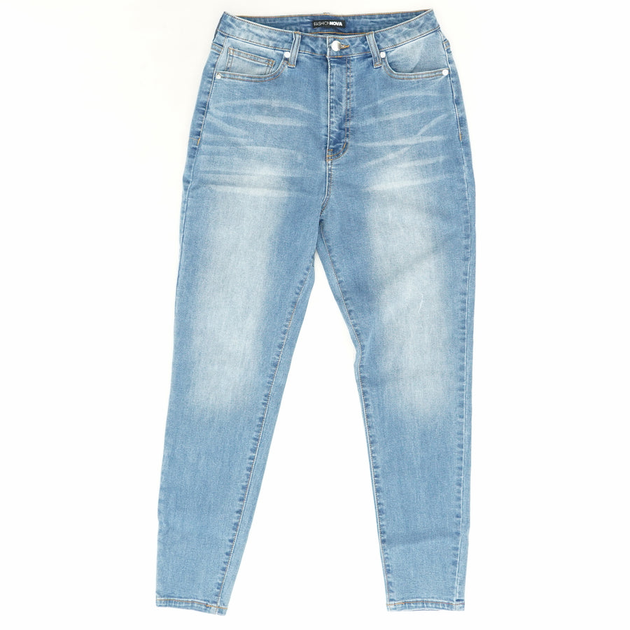 Stay Classic High Waist Skinny Jeans in Medium Blue Wash - Size 30