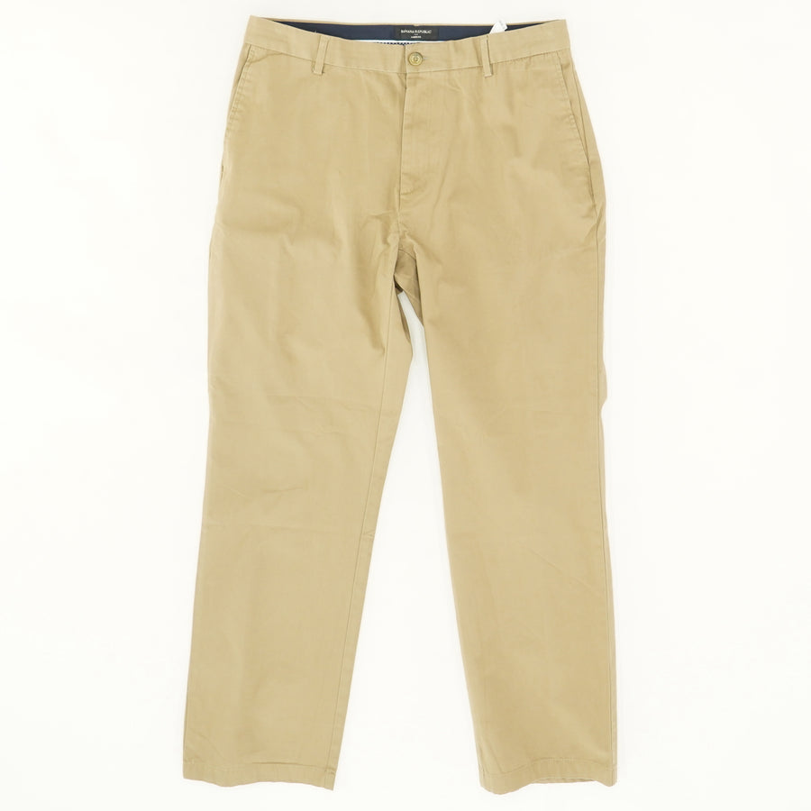 Aiden Fit Cotton Chinos - Size 35W 31L