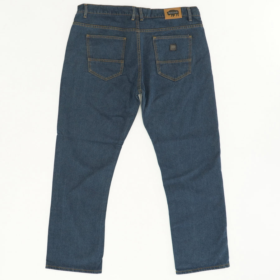 Relaxed Fit Dark Wash Work Denim - Size 40W 32L
