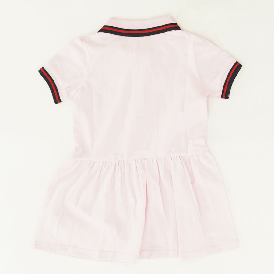 Pink Collar Dress Size 18-24M