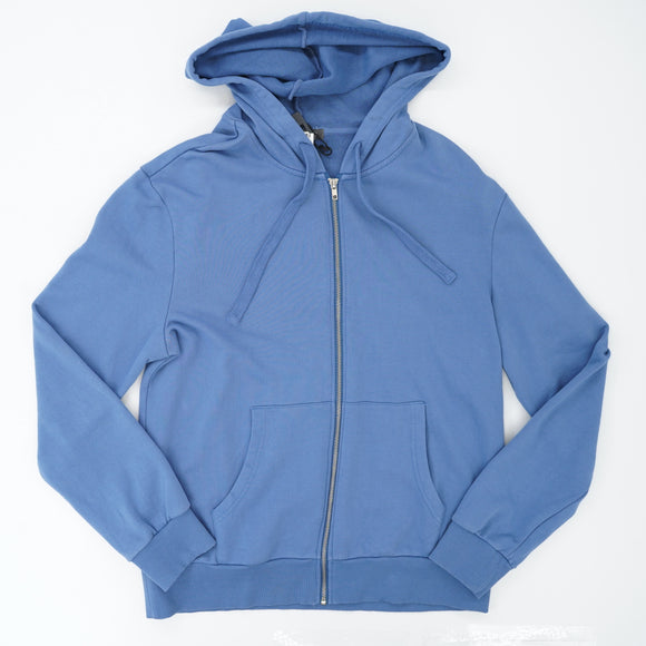 Long Sleeve Hooded Zip-Up Jacket Size-M