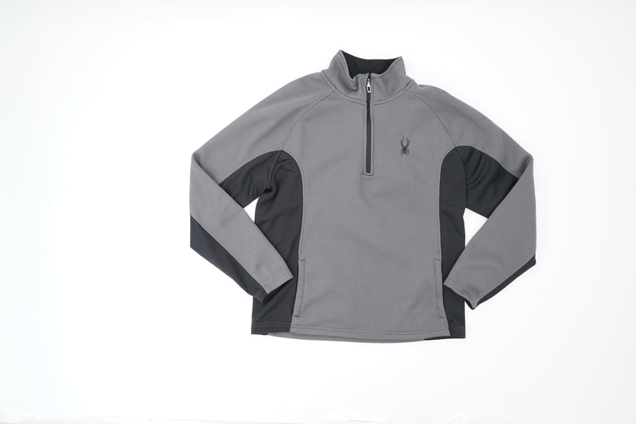 Quarter Zip Thermal Pullover Size L
