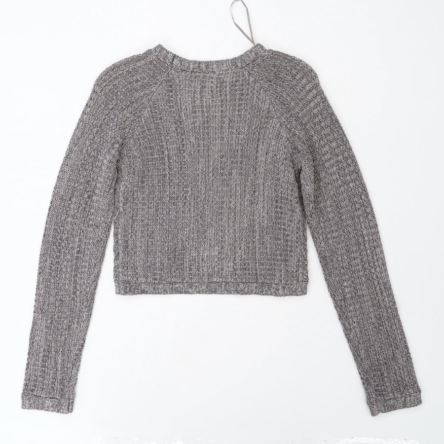 Dove Gray B Orta Cropped Sweater Size 12