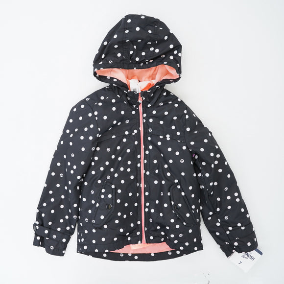 Black Polka Dot 4-In-1 Jacket Size 7
