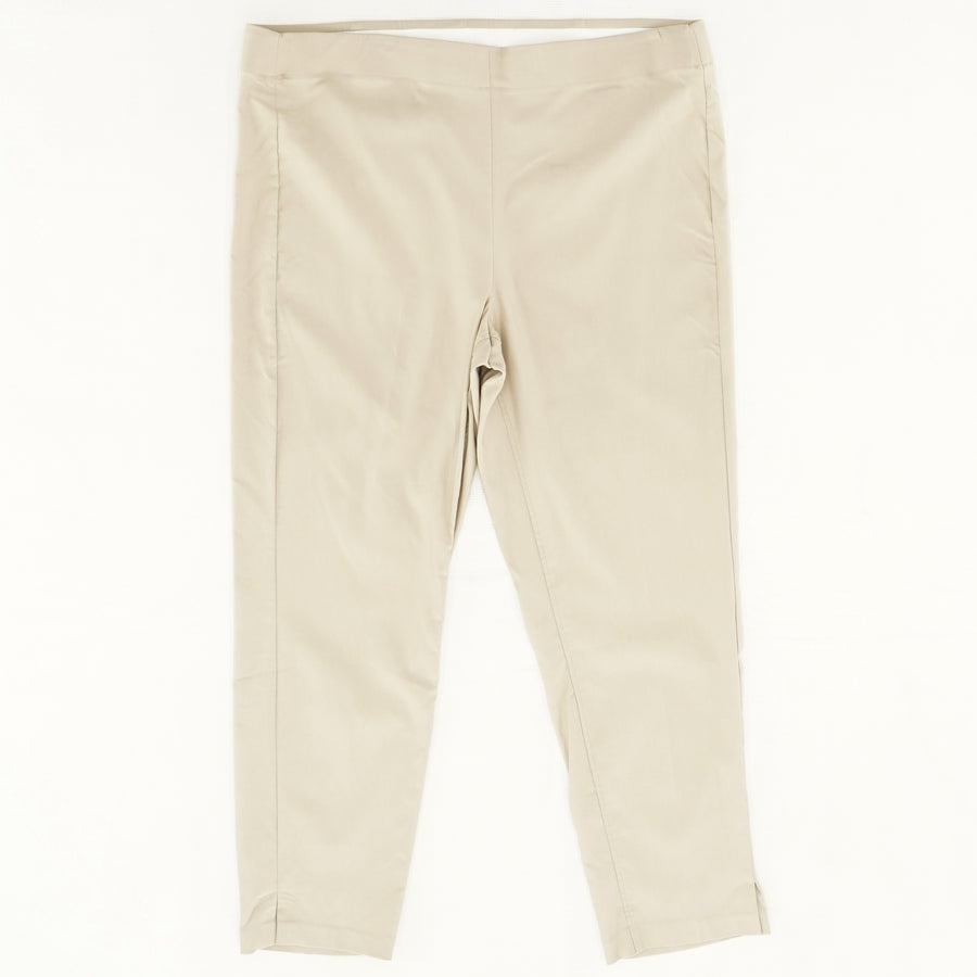 Pull On Ankle Pants Size 18