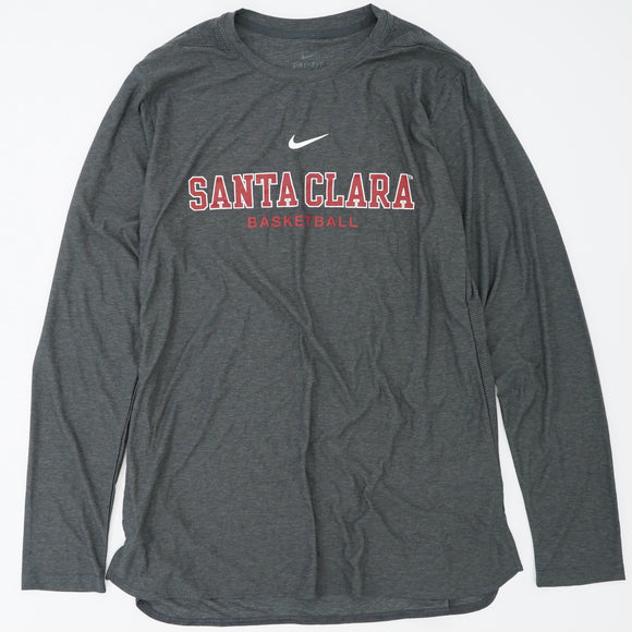 Santa Clara Basketball Long Sleeve Shirt Size L