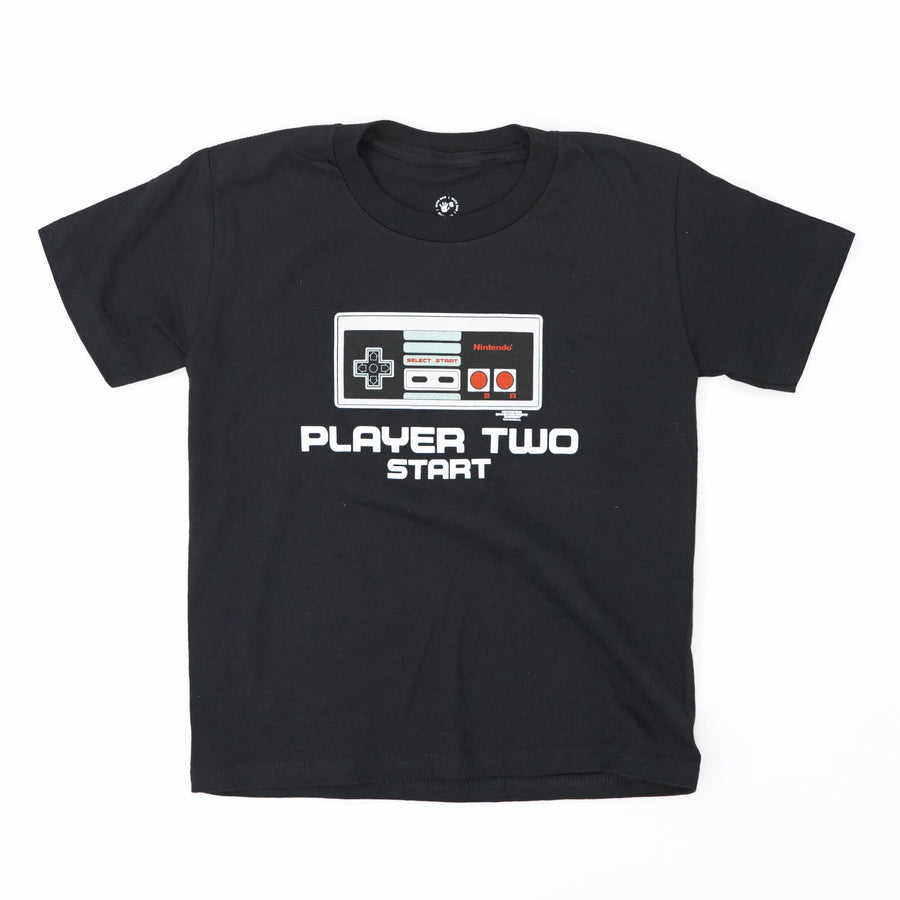 Nintendo Controller Player Two Tee Size 5