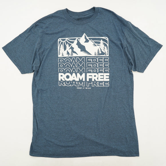 Roam Free Keep Wild Graphic Tee Size XL
