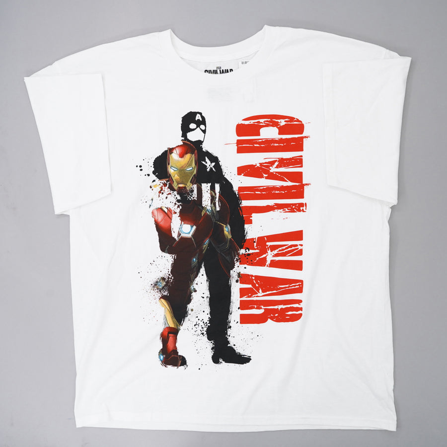 Cival War Graphic Tee Size 2XL