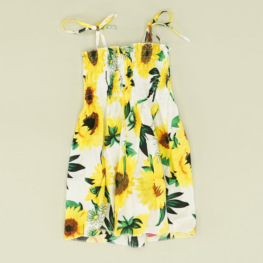 Sunflower Strappy Dress - Size 12-18M