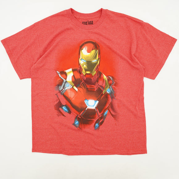 Ironman In Civil War Graphic Tee Size XL