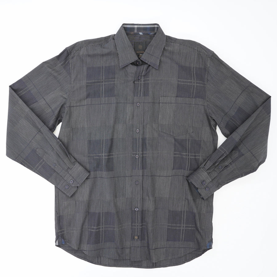 Long Sleeve Button Down Shirt with Pocket