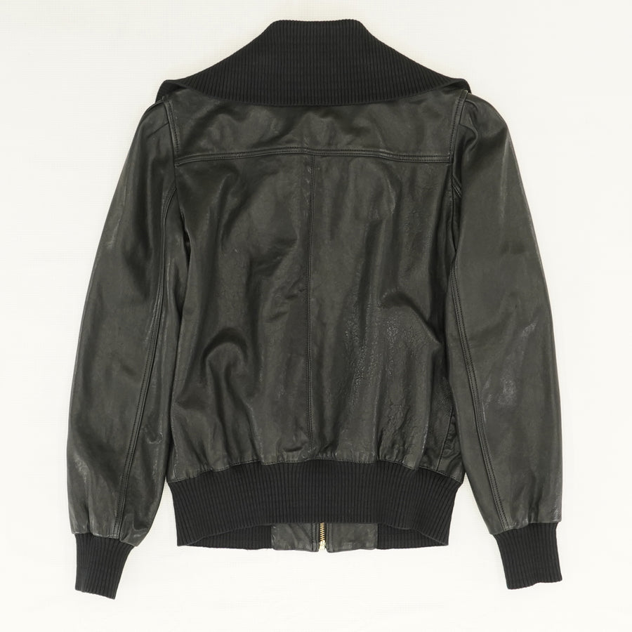 La Cienega Leather Jacket - Size XS