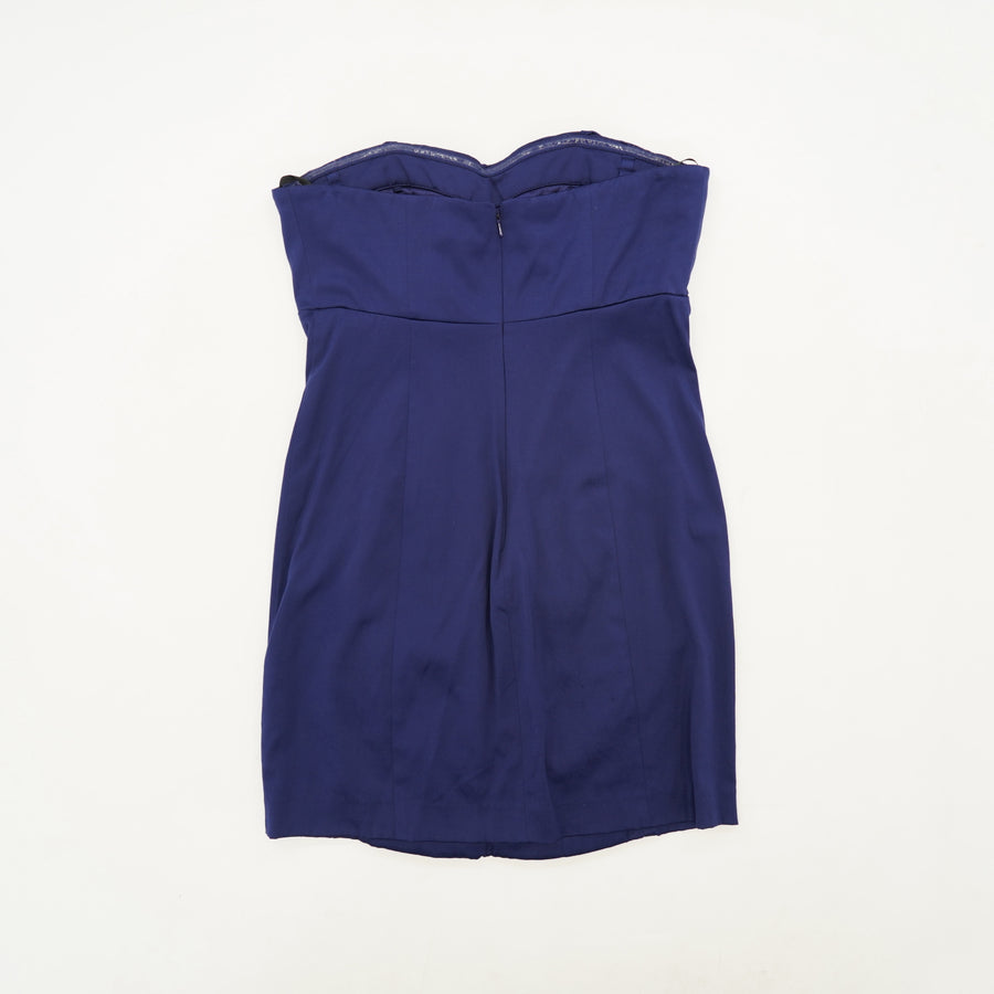 """Pixie"" Strapless Pintucked Dress Size S"