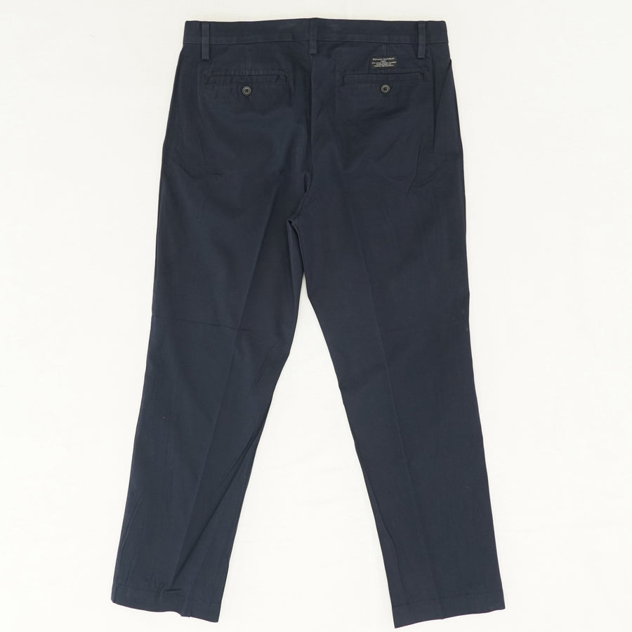 Slim-Fit Navy Chino Pants Size 32x30