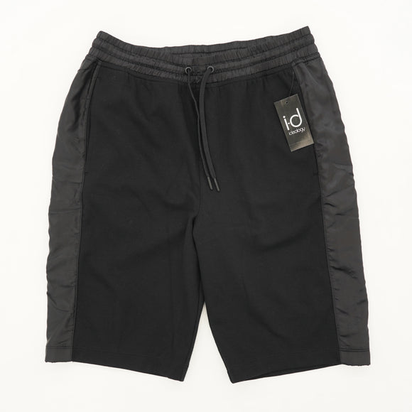 Deep Black Fleece Shorts Size S