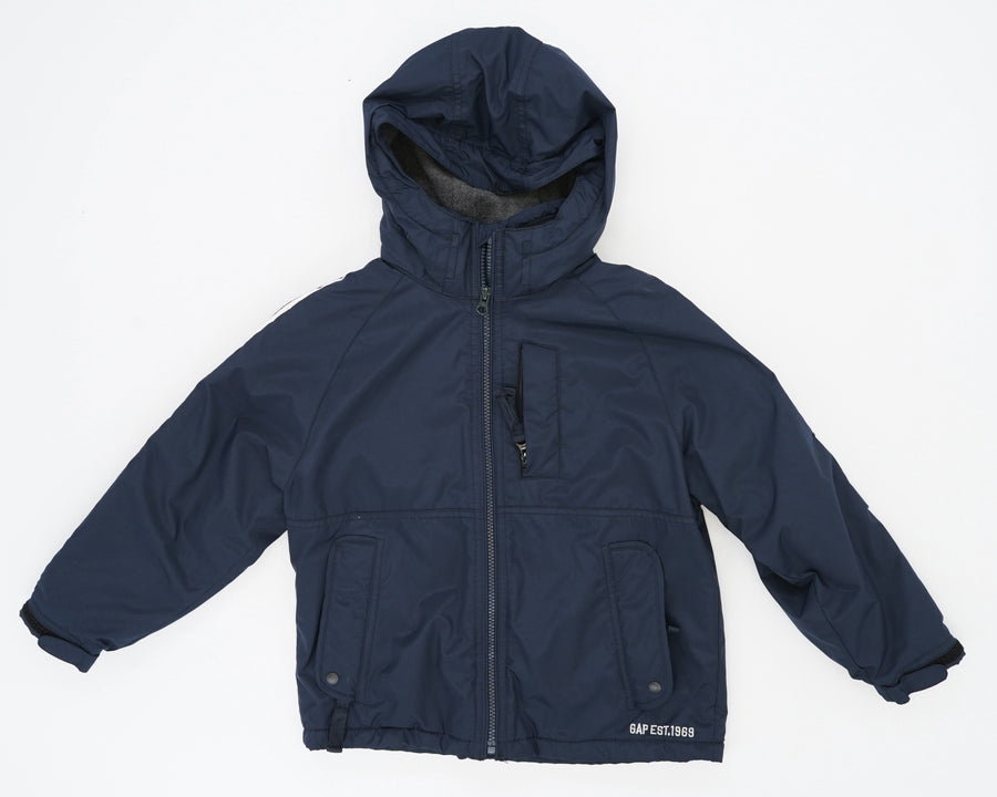 Lined Hooded Zip Up Size 6/7