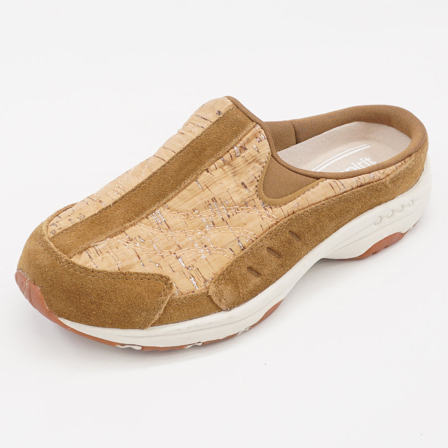 Cork Mesh Travel Clog Size 6