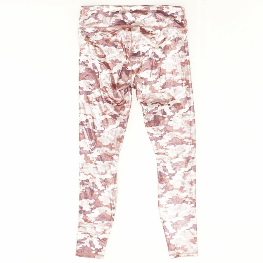 Mid-Rise Printed Powerhold Legging Size M