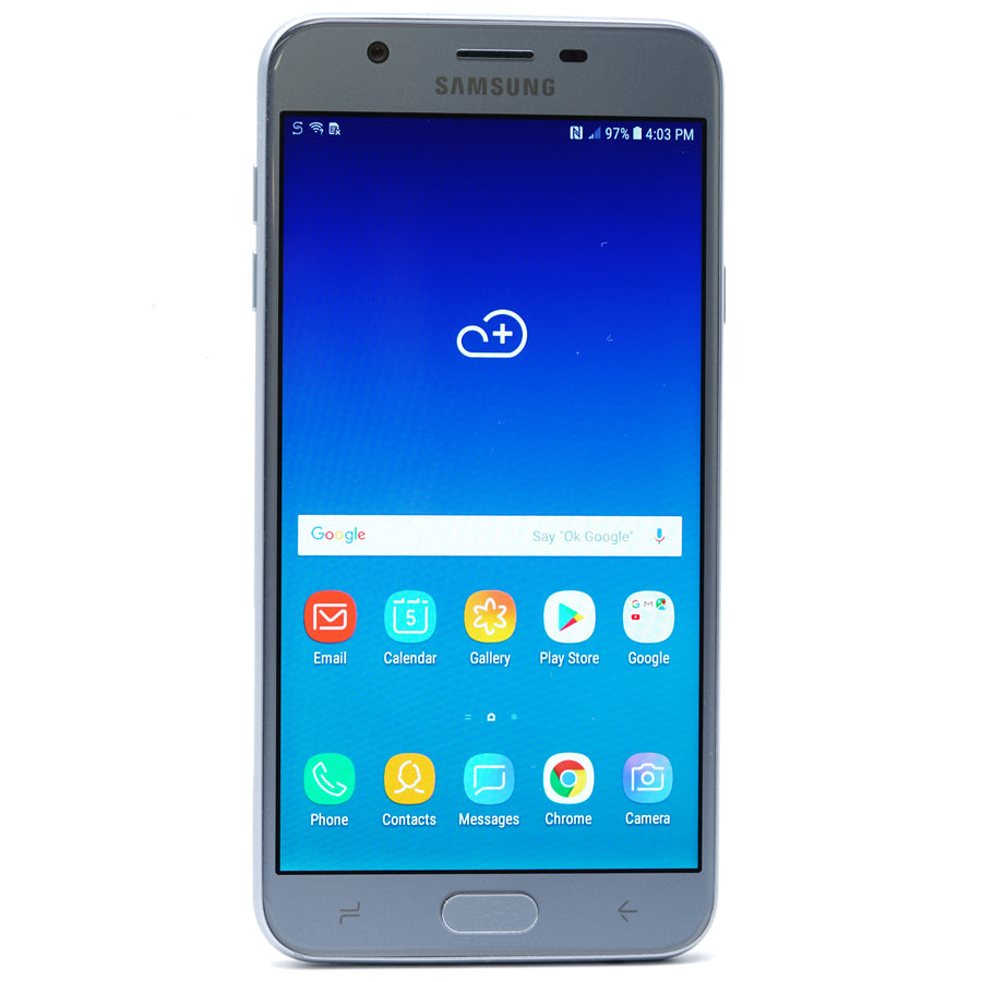 Galaxy J7 32GB Smartphone Metro PCS Blue