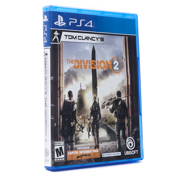 The Division 2 Game for PS4
