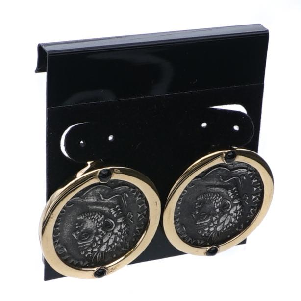 Clip-On Coin Earring