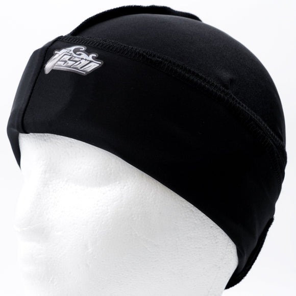 All Purpose Stringless Durag Black