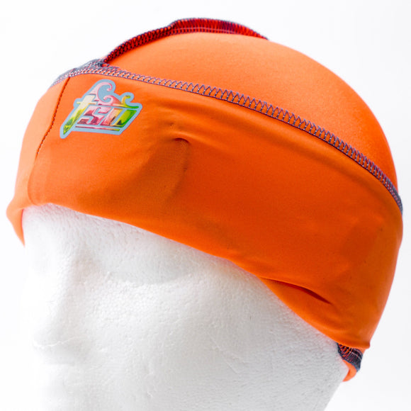 All Purpose Stringless Durag Orange