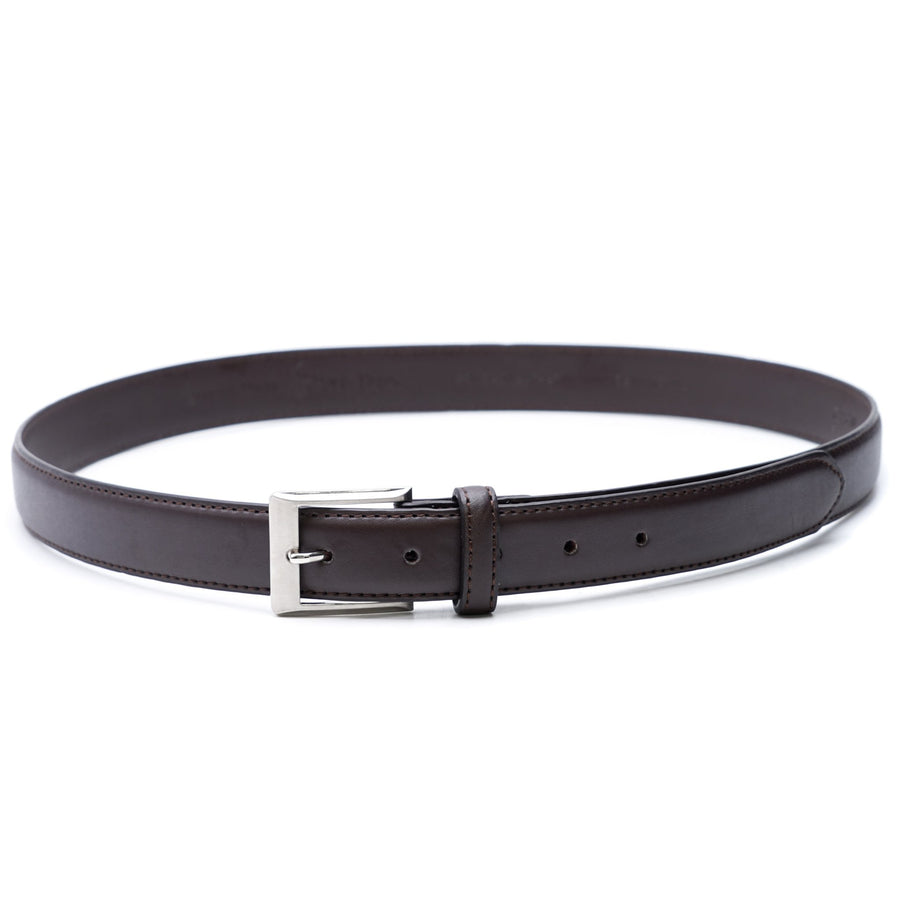 Brown Bonded Leather Belt Size 38