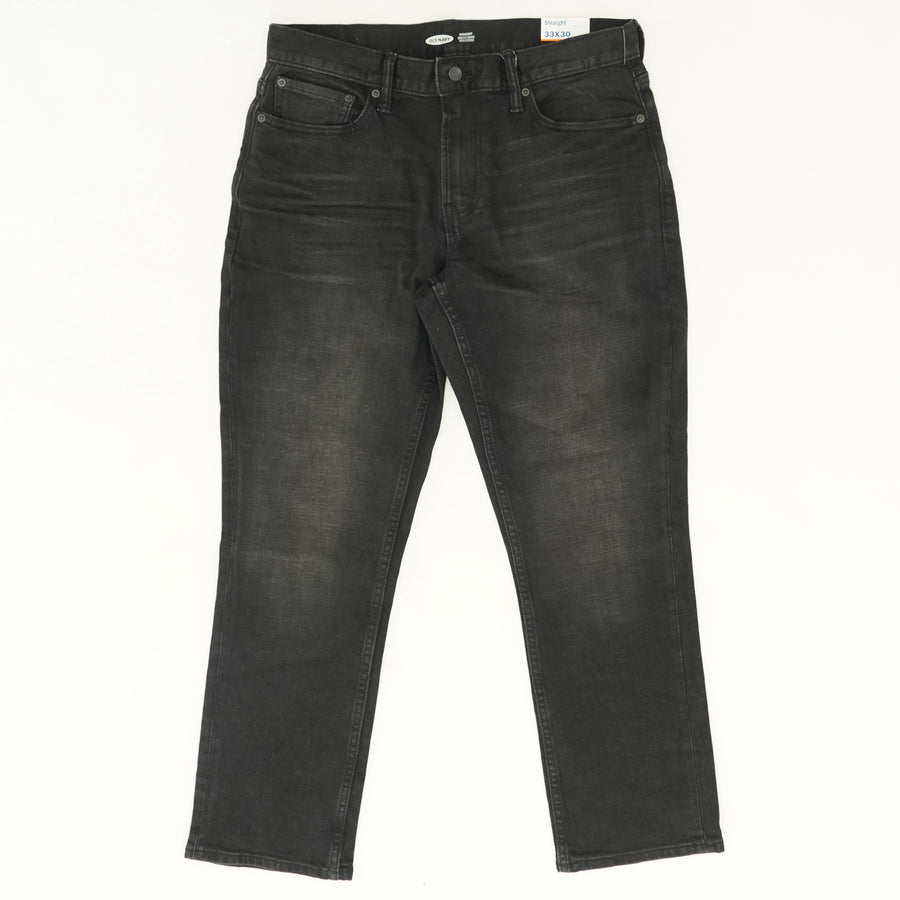 Straight Built in Flex Jeans - Size 33W 30L
