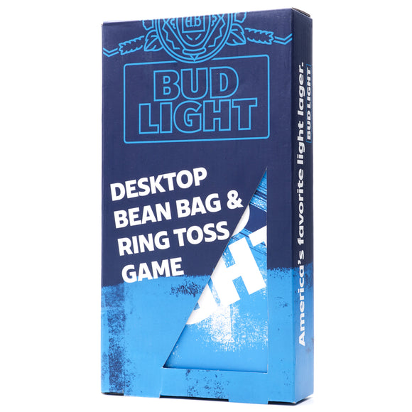 Bud Light Desktop Bean Bag & Ring Toss Gift Set